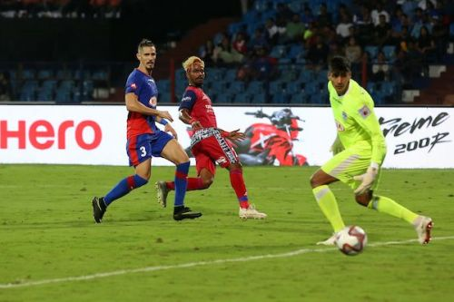 Gourav Mukhi Jamshedpur FC goal Bengaluru ISL