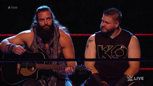 Kevin Owens doesn't have friends.