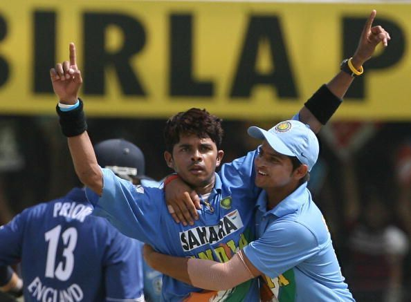 Sreesanth stifled England in the 2006 series by picking wickets at regular intervals