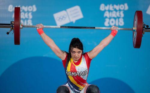 Bronze medalist Mihaela Valentina Cambeifrom Romania (Image Courtesy: IOC)