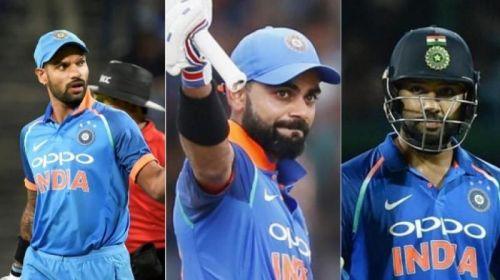 EThe Indian top order trio make their way to this prestigious list