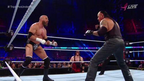 Undertaker, Triple H,
