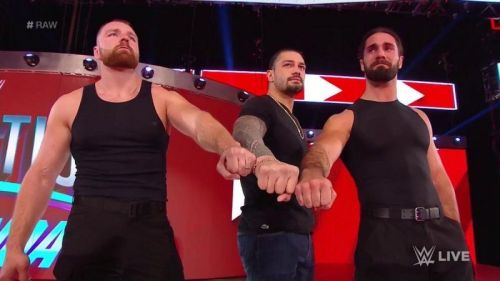 The Shield unite on Raw