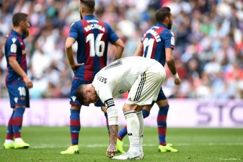 Ramos and Varane were constantly caught out of position against Levante UD
