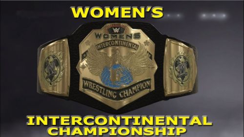 A gold title for the ladies of WWE