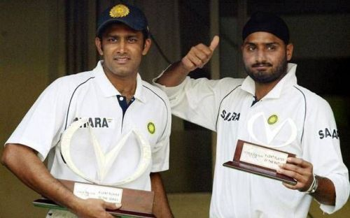 Harbhajan and Anil Kumble - The best spin bowling partnership for India