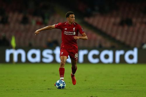 Alexander-Arnold has shown maturity beyond his years so far this campaign