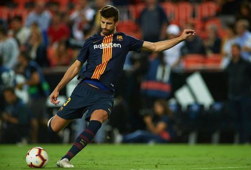 Pique's defensive prowess is major in avoiding a breakdown in the back