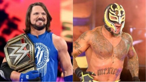 Mysterio and Styles are two skilled veterans
