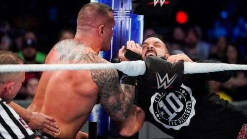 Image result for tye dillinger vs randy orton