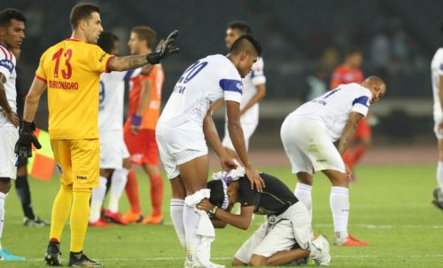 Pritam is one of the most experienced defenders in the Indian Super League (Image Courtesy: ISL)