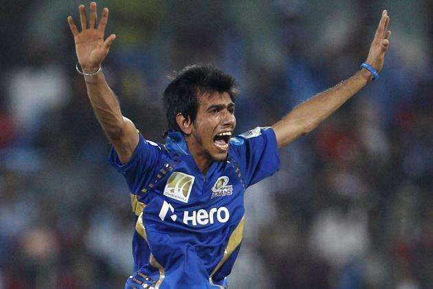 Chahal made his debut in the CLT20 tournament