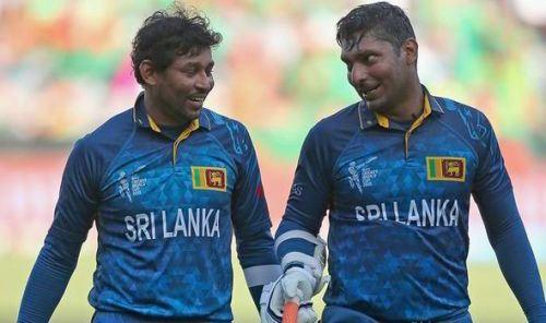 Image result for Tillakaratne Dilshan and Kumar Sangakkara
