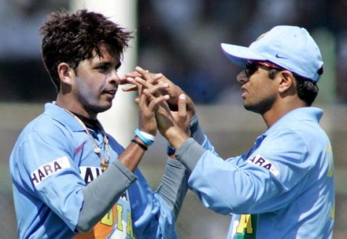 Sreesanth was skipper Rahul Dravid's go-to bowler in ODIs in 2006