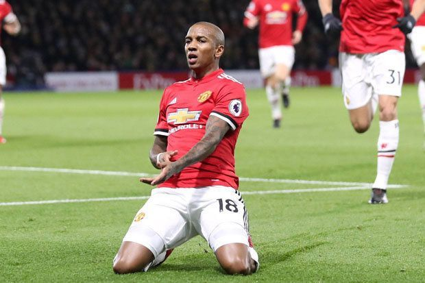 Ashley Young has been preferred over others in full-back positions.