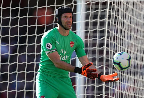Cech has kept more clean sheets than any other goalkeeper in Premier League history
