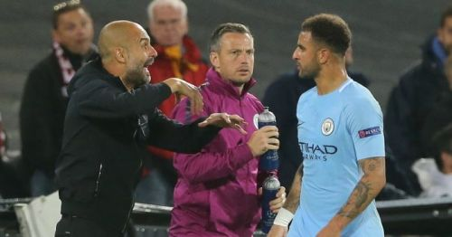 Kyle Walker has been repeatedly praising Pep's guidance for improvements in his game since their association at Manchester City