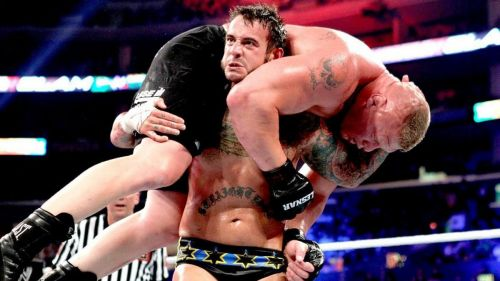 While Lesnar has found success in the octagon, CM Punk hasn't