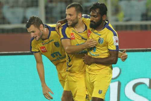 CK Vineeth who was not given a start in the previous matches might be included in the lineup for this match (Image Courtesy: ISL)