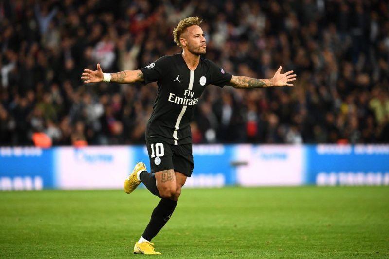Neymar netted a