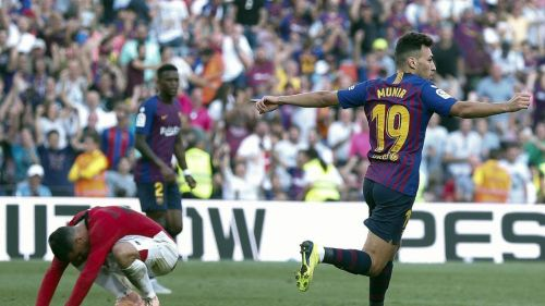 Munir equalised for Barcelona late in the second half: Athletic Bilbao vs Barcelona