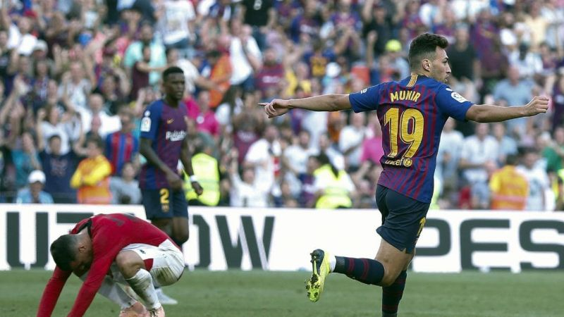 Munir equalised for Barcelona late in the second half: Athletic Bilbao vs Barcelona