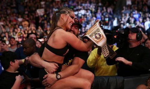 Ronda won the title convincingly