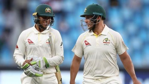 The first Pakistan-Australia Test ended in a draw