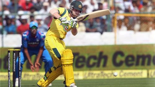 George Bailey was the top scorer for the Aussies with an unbeaten 92