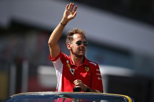 Vettel waving goodbye to his title hopes like.....