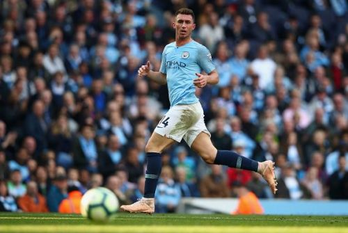 The central defender has started all the matches for Manchester City this season