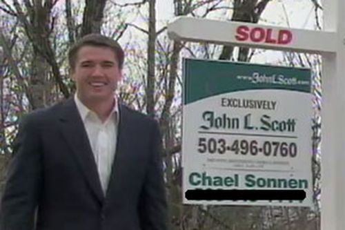 Sonnen was convicted of money laundering during his time as a licensed realtor