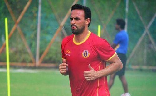 Enrique Esqueda, East Bengal forward