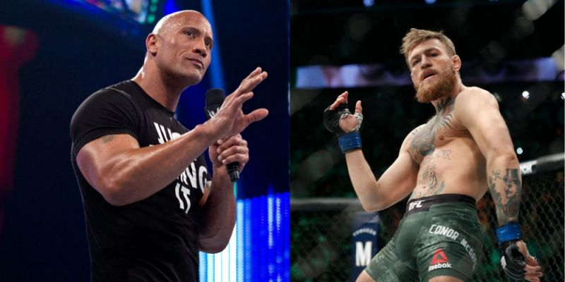 The Rock and Conor McGregor are sparkling examples of the sport that they represent!