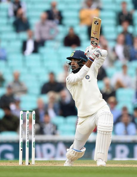Lokesh Rahul. England v India: Specsavers 5th Test - Day Five
