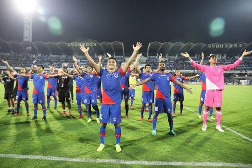 Bengaluru FC no sponsor JSW