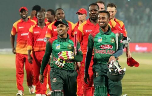 Bangladesh registered another clean sweep over Zimbabwe