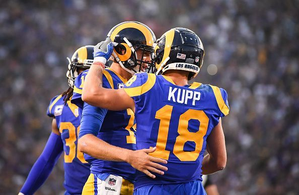 NFL  Power Rankings at the quarter-mark of the 2018 NFL season 349431186