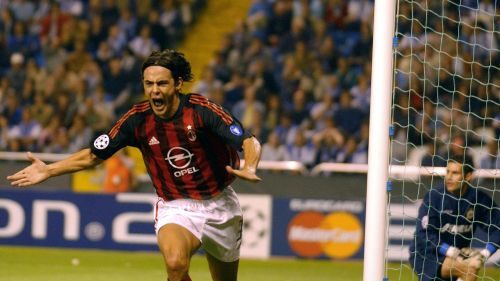 Inzaghi has achieved legendary status in the UCL
