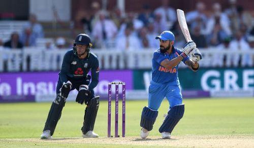 Kohli's rich vein of form saw him score 558 runs in the 2018 ODI series vs the Proteas