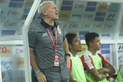 Steve Coppell, the ATK coach (Image: ISL)