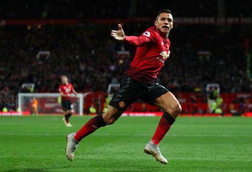 Sanchez scored United's late winner against Newcastle