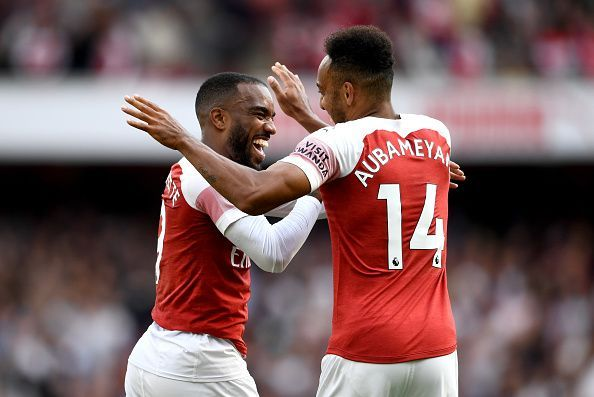 Lacazette and Aubameyang have forged a deadly strike pair for Arsenal