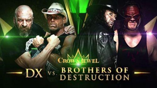 DX vs The Brothers of Destruction