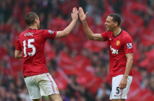 Vidic and Ferdinand protected the Manchester United goal for 8 seasons.