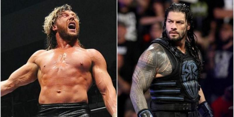 Kenny Omega has a few kind words for Roman Reigns