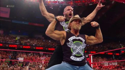 The beginning of Raw was nothing short of explosive!