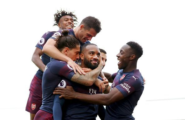 The Gunners are on a roll with 9 wins in a row