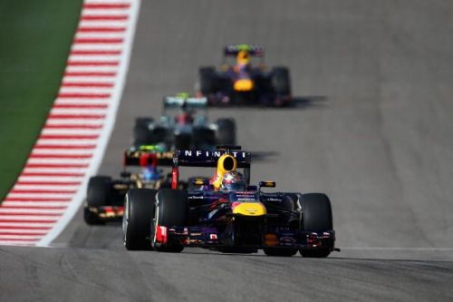 Vettel dominated the entire weekend at the Circuit of the Americas