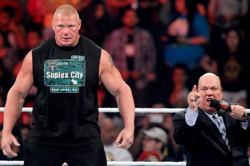 Image result for wwe brock lesnar paul heyman